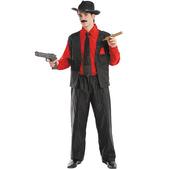 Disfraz de gángster hombre