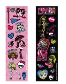 Set de pegatinas de Monster High