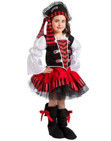 Disfraz de pirata de los 7 mares para niña