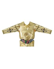 Camiseta de C3PO hiperrealista para niño