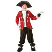 Costume de capitaine Crochet garçon
