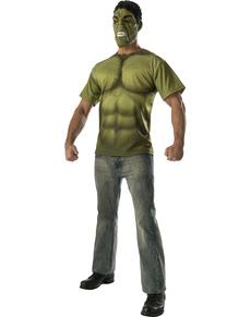 Kit disfraz de Hulk para hombre