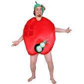 Disfraz de manzana