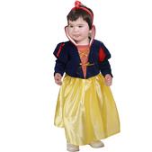 Disfraz de bella nieves bebé