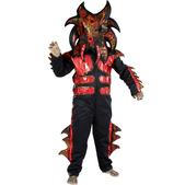 Disfraz de alien tigre para niño