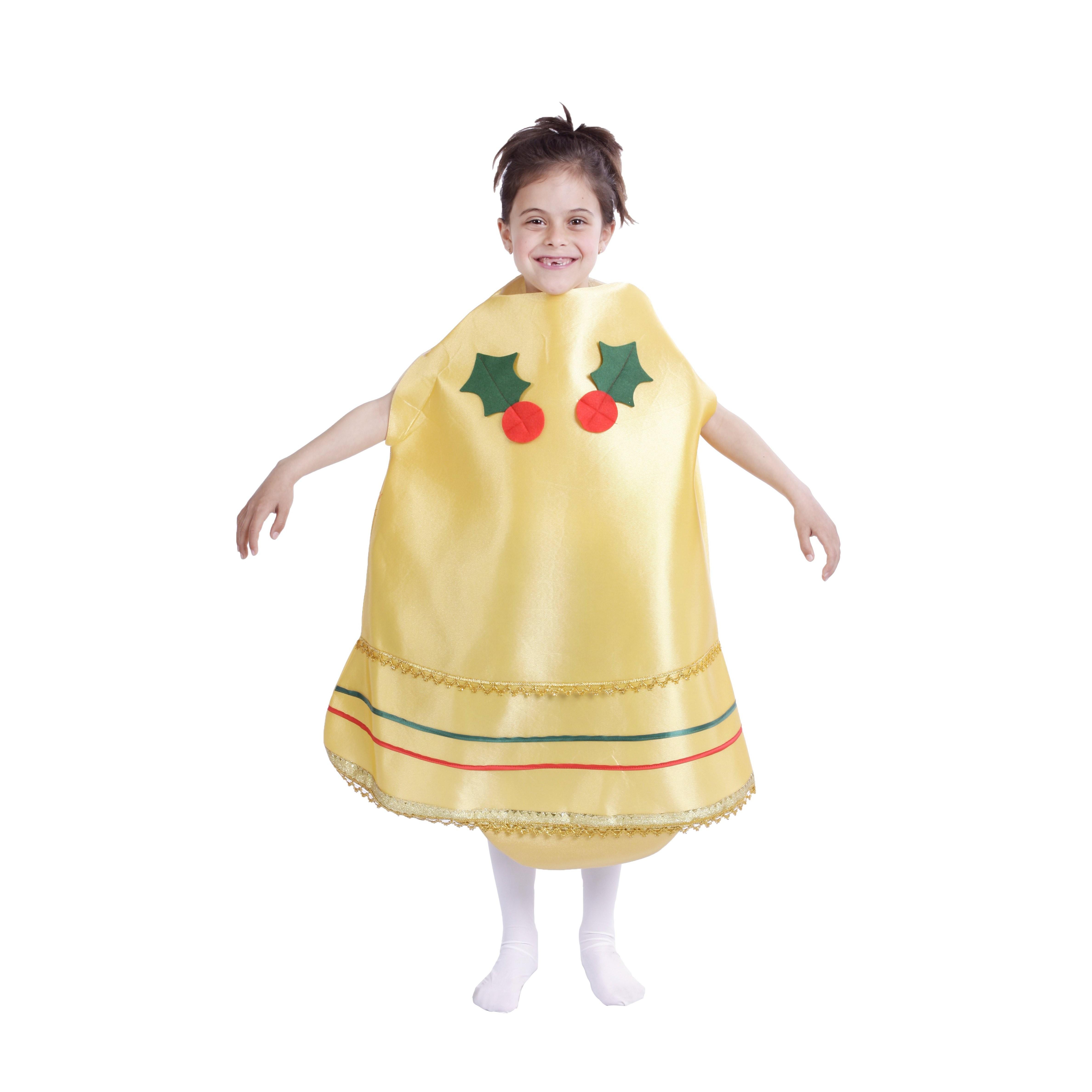 Christmas Bell Girl Child Costume Ebay