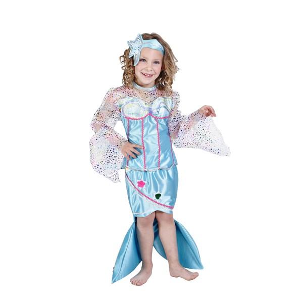 Como hacer un disfraz de sirenita para niña - Imagui