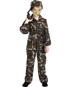 comprar disfraz de camuflaje de niño amazon