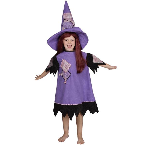 Disfraz de brujita para niña - Imagui