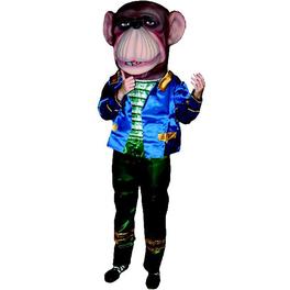 Cabezudo adulto mono