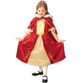 Disfraz de princesa bella platinum niña
