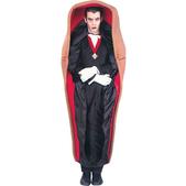 Disfraz de Drácula en el ataud