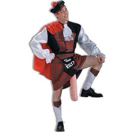 Disfraz de escocés con gaitón