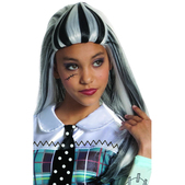 Peluca de Frankie Stein de Monster High