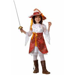 Disfraz de mosquetera para niña