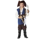 Disfraz de pirata de los mares para niño.