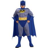 Costume de Batman Alliance des héros musclé garçon