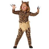 Disfraz de tigresa para niña