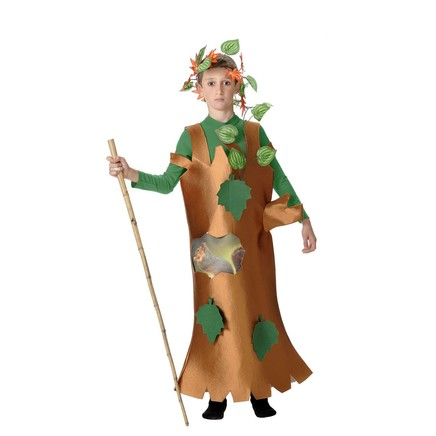 Disfraz de árbol para niño