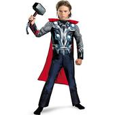 Costume de Thor Classic musclé garçon