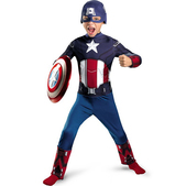 Disfraz de Capitán América Classic niño