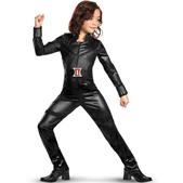 Costume de Veuve noire fille