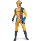 Disfraz de Lobezno X-Men Orígenes musculoso niño