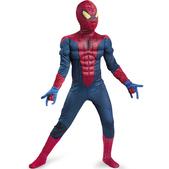 Costume musclé d'Amazing Spiderman Movie Classic garçon