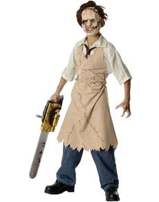 Disfraz de Leatherface Matanza de Texas para niño