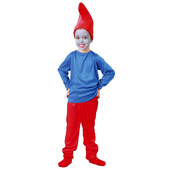 Disfraz de Papá Pitufo niño