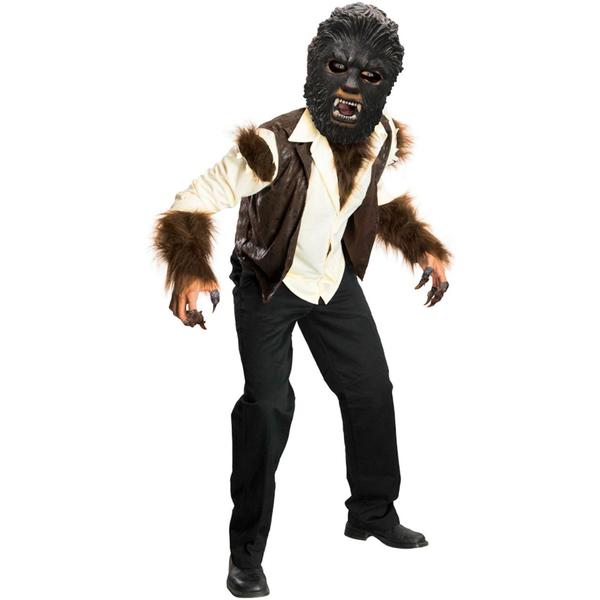 Disfraz de hombre lobo The Wolfman Deluxe para niño: comprar