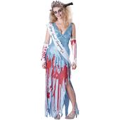 Disfraz de modelo de pasarela zombie