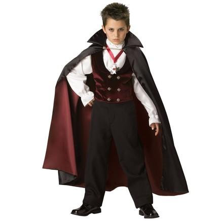 Fato do Conde Drácula Élite para menino