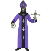Disfraz de esqueleto anticristo