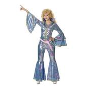 Disfraz disco mujer