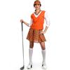 Disfraz de jugadora golf deluxe