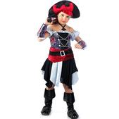 Disfraz de pirata corsaria para niña