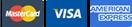 Visa, Visa 4B, MasterCard, Maestro & American Express