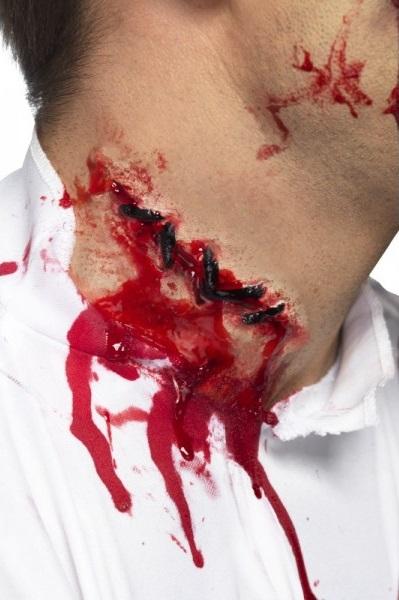 herida falsa